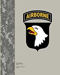 Screaming Eagles Blank Lined Notebook 8