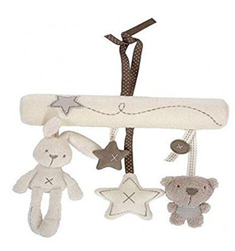 SUNMUCH Kinderwagen Spielzeug Sleeping Forest Kaninchen Baby Musik hängen für Baby Bett Kinderwagen Baby Auto