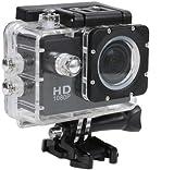 #10: Benison India Sport Action Camera Diving Full HD DVR DV SJ4000 Min 30M Waterproof extreme Sport Helmet Action Camera 1920*1080P G-Senor Motorbike Camcorder DVR DV