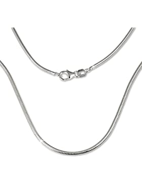 SilberDream Damen-Halskette Schlangen 925 Sterling Silber 70cm SDK20170