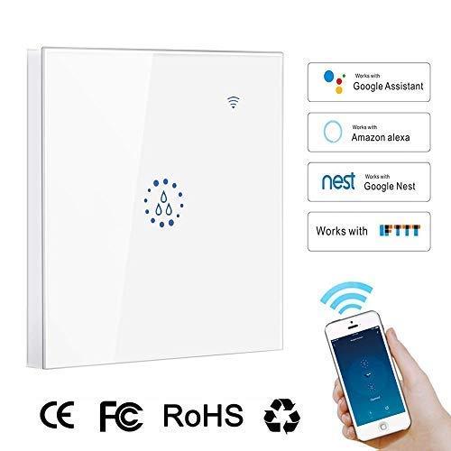 interruptor wifi alexa, leegoal 4400W Wireless interruptor de luz inteligente compatible con...