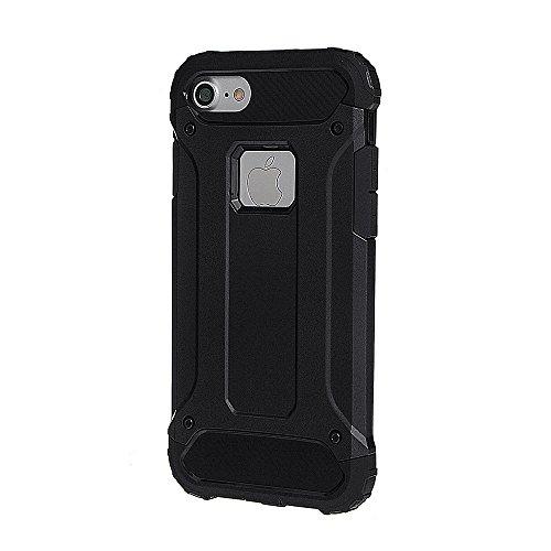 """xhorizon Double Couche Plastique Dur PC TPU DOUX Mélangé Antichoc Couverture de Protection Lourde pour iPhone 7 Plus[5.5""""] avec 9H film de protection en verre trempé #1"""