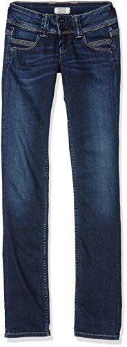 Pepe Jeans Damen Venus Jeans, Blau (Denim), 34(UK)