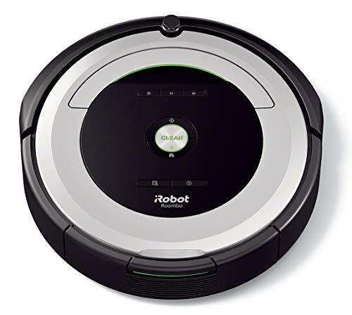 IRobot Roomba 680- Robot aspirador para suelos duros y alfombras, con tecnología Dirt Detect, sistema...