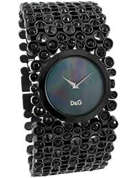 Dolce&Gabbana - DW0245 - Risky - Montre Femme - Quartz Analogique - Cadran Noir - Bracelet Acier Noir