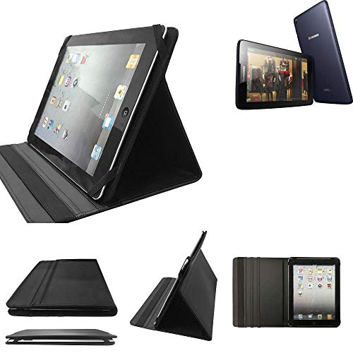 K-S-Trade Lenovo IdeaTab A8-50 WiFi Schutz Hülle Business Case Tablet Schutzhülle Flip Cover Ultra Slim Bookstyle Tasche für Lenovo IdeaTab A8-50 WiFi, schwarz. Kunstleder Qualitätswa