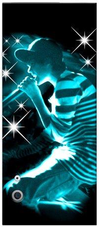 MusicSkins Justin Bieber Sparkle Blue, Skin per Apple iPod Nano 5a Gen