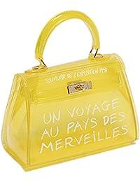 la meilleure attitude 95c96 3ffa4 Amazon.fr : Jaune - Femme / Sacs : Chaussures et Sacs