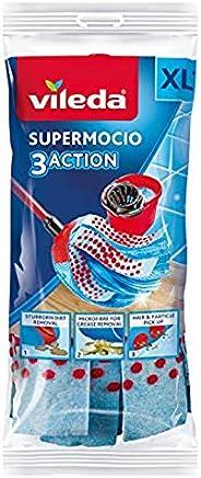 Vileda 3 Action Supermocio Floor Mop Refill