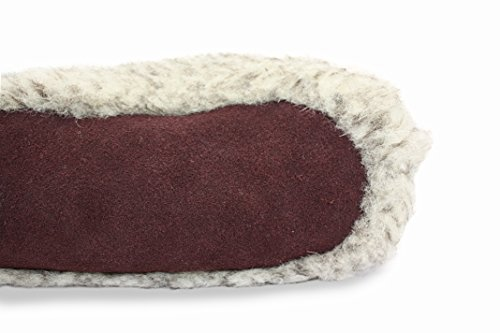 Ploskorez  Grey Cozy Home Slippers, Chaussons pour homme gris GREY GRAY Blanc