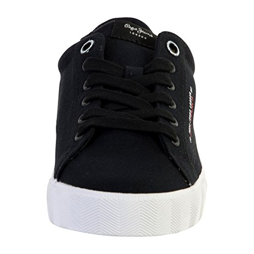Pepe Jeans London New North Basic, Sneakers Basses Homme Noir