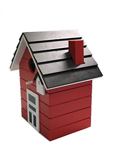 Vogelhaus Nistkasten 20cm bunt (rot) - 2