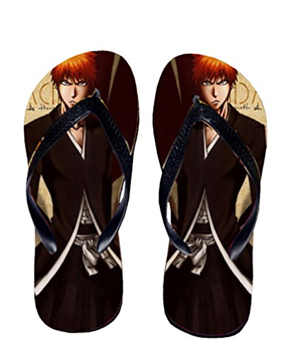 Bromeo Bleach Anime Unisex Flip Flops Zehentrenner Flip Pantoffeln 259 lz8dP