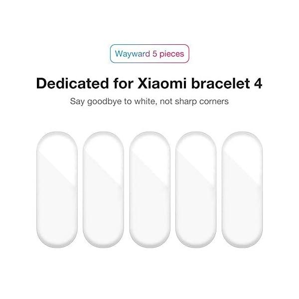 Jiadi M4 Smart Bracelet Fitness Tracker, IP67 Impermeable Monitor de Ritmo cardíaco dinámico Podómetro Banda Inteligente… 6