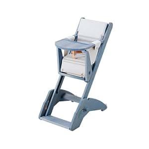 Combelle Evo 21 Chaise Haute Multipositions Bleu Azur