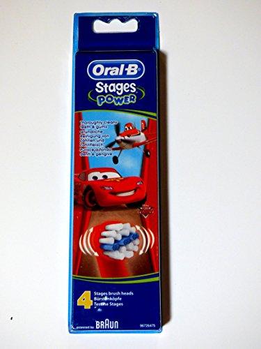 Oral-b - Stages power - diseño disney cars & planes cabezal de recambio para...