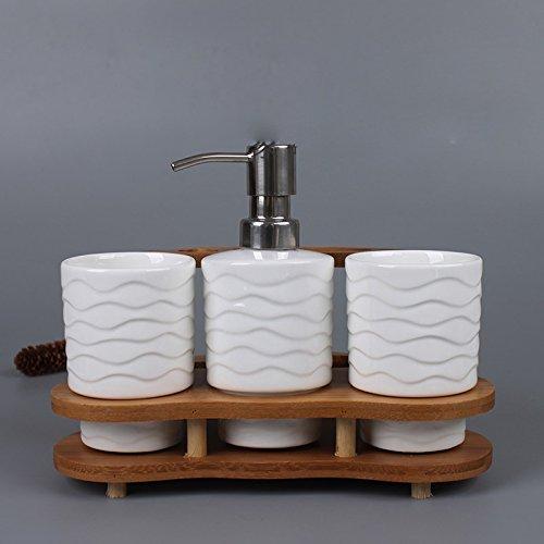 XXN-Creative bambù dentale suite bagno quattro-pezzo suite