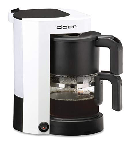 Cloer 5981 Cafetière pour 5 Tasses Blanc