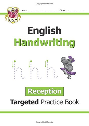 English Targeted Practice Book: Handwriting - Reception (CGP Reception)