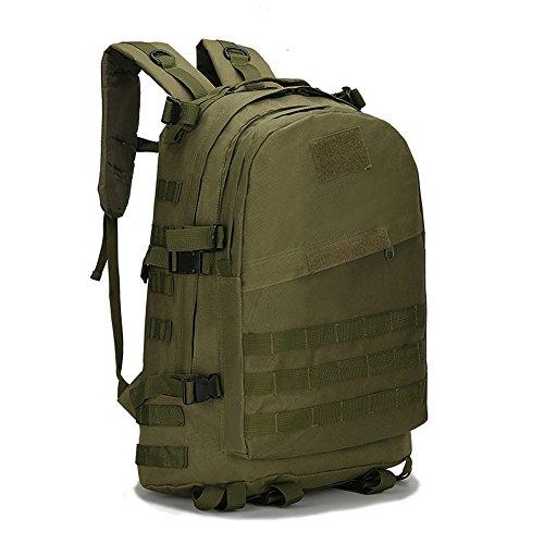 PerGrate Männer Frauen Unisex Outdoor Militärische Taktische 3D Rucksack 40L Camping Wandern Tasche Trekking Sport Rucksäcke