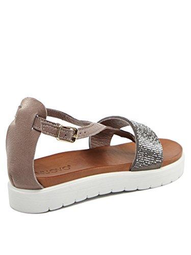 INUOVO donna sandali 5198 CHURCHILL Grigio