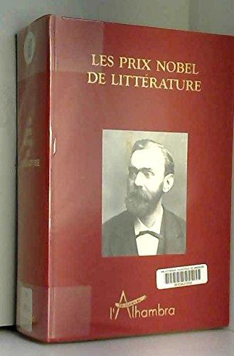 Les Prix Nobel de littérature