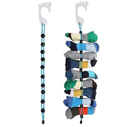 Great Houseware Reise-Socken-Organizer für Strumpfwaren, zur Reinigung von Hilfsbehältern für Sammler, 2 Stück