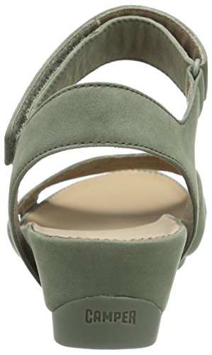 Camper Micro, Sandales  Bout ouvert femme Vert - Green (Pastel Green)