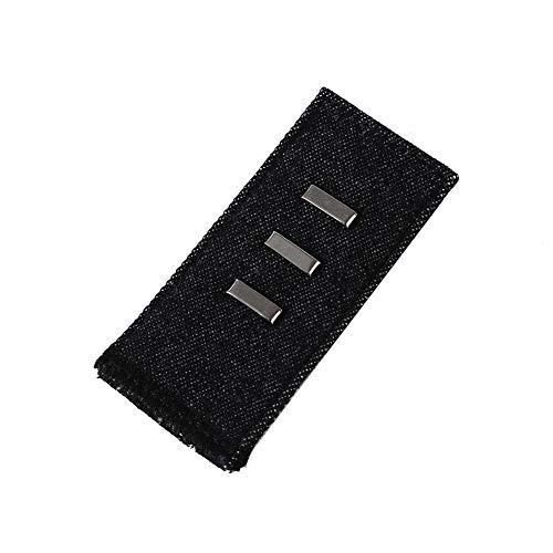 Taille Denim Pant (Elastische Hosen Taille Extender für Pants Jeans Denim Hosen Bunderweiterung,7,3 3,5 cm)