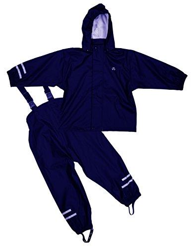 ELKA Regenanzug 2tlg. Baby-Regenbekleidung, Größe 92, blau