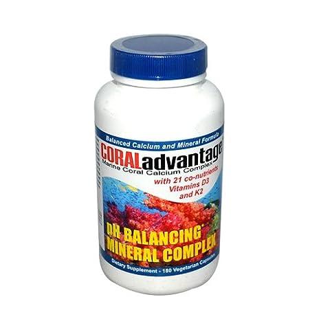 Coral Advantage, Marine Coral Calcium Complex, 180 Veggie Caps