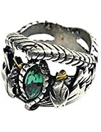 Gambulin Titanium Steel Lord of The Rings Aragorn's Ring US 10,Aragorn's Ring for Men