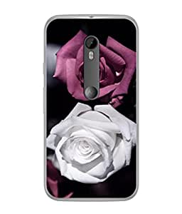 Snapdilla Designer Back Case Cover for Motorola Moto X Style :: Moto X Pure Edition (Petal Floral Passion Occasion Valentine Purple )