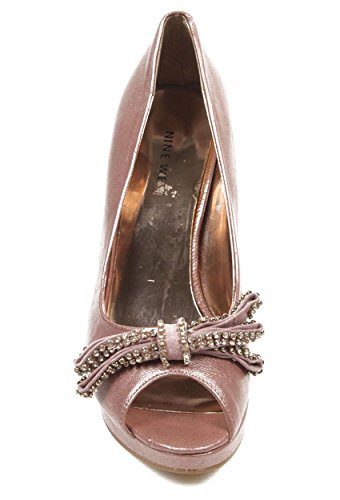 NINE WEST - Pumps - Scarpe Col Tacco Donna Punta Aperta NWTHISTLE PINK Tacco: 10.5 cm Rosa
