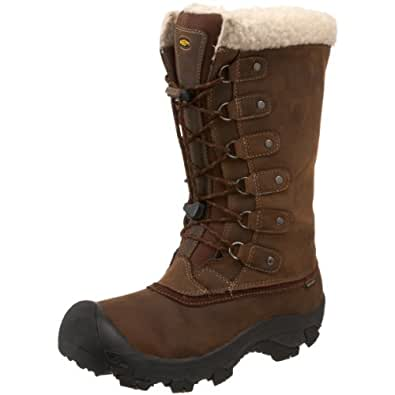 Keen Mens ALASKA BOOT Snow Boots Brown Braun (Potting Soil