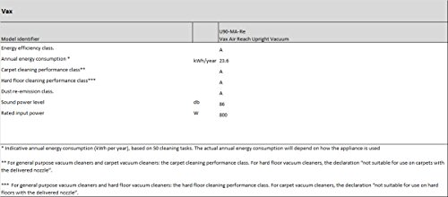 Vax U90-MA-Re Air Reach Upright Vacuum Cleaner – Purple