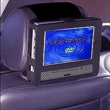 TFY 9mount01 - Soporte de reposacabezas de coche para reproductor de DVD portátil de 9