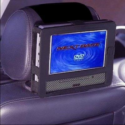 Auto Kopfstützenhalterung für 9 Zoll DVD-Player mit Neigungs- und Schwenkfunktion Kfz Halterung Kopfstütze - von TFY (Tragbarer 9 Dvd-player Zoll)