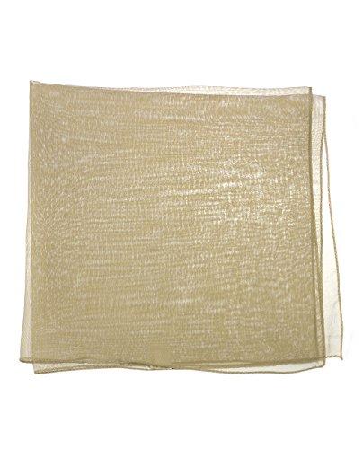 Foulard versatile pour femme en mousseline. Produit offert par NYFASHION101. Taupe