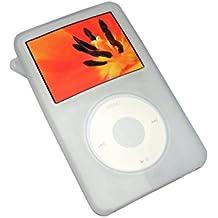 iGadgitz Chiaro Custodia Silicone per Apple iPod Classic 80GB, 120GB & Nuovo 6th Generation 160gb (Ipod Classic Cover)