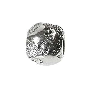 Carlo BIAGI Bead 925 Silber Erde Armband Anhänger BBS282