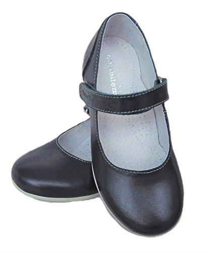 ennellemoo®  Made in EU , Ballerines fille Bleu - Blau/Dunkelblau