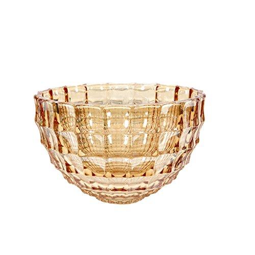 piatto di frutta Vetro piatto di frutta piatto di frutta casa europea Soggiorno Frutta secca Ciotola Moderna Frutta semplice trasparente Fruit Basket