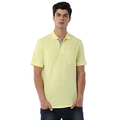Classic Polo Yellow T-Shirt for Men