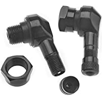 for Car Truck Motorcycle Bike 3 Kinds, Silver Nickel-Plated Copper Air Tire Extension Schrader Valve Adapter QitinDasen 3Pcs Professional Tyre Valve Extension Adapter Set Tire Stem Extension
