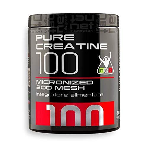 PURE CREATINE 100 MICRONIZED 200 MESH - Creatina ultra-micronizzata 200 mesh - Net Intgratori (200...