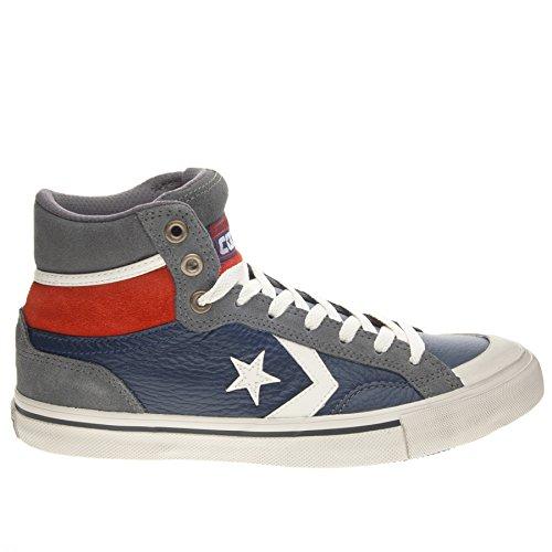 Converse - Pro Blaze Hi, Sneaker alte Unisex – Adulto Blu/Grigio