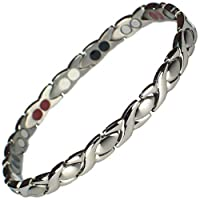 MPS® Alioth 4 in 1 Classic Titanium Magnetic Bracelet + Free Link Removal Tool