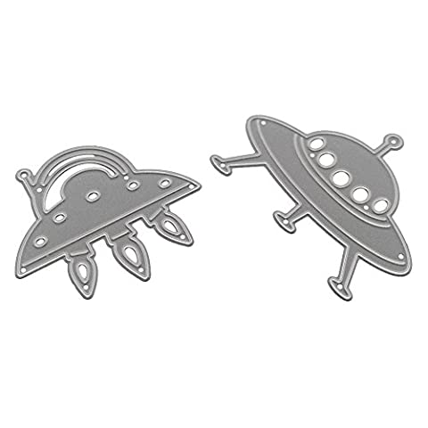 Flying Saucer Metal Cutting Dies For Scrapbooking Stencils DIY Cards Decor Amazingdeal365