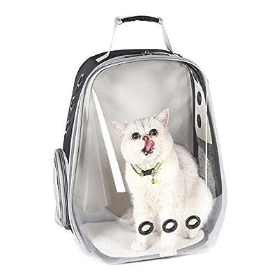 Space Capsule Bubble, Mochila para Gato portátil Transparente para Exteriores, cápsula Espacial, Bolsa Transpirable para Mascotas, Mochila portátil para Llevar Burbujas de FLHLH.CO